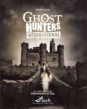 По следам призраков / Ghost Hunters International (Сезон 1-3) (2008–2012)